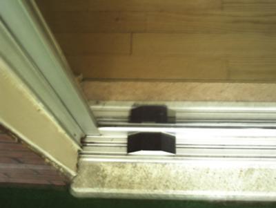 E-Z Slider door opener