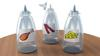 Pet Hydration Drops Bottles