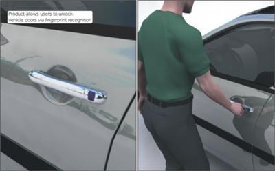 How To Unlock A Locked Door >> Fingerprint Unlocking System