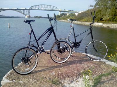 Safety Tall Bike