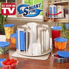 Smart Spin Food Storage System